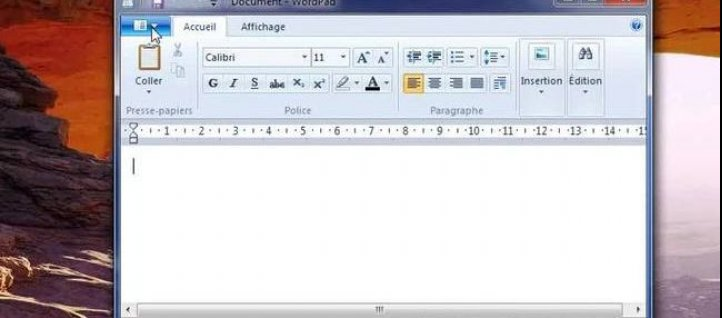 Tuto Bien utiliser Wordpad Windows