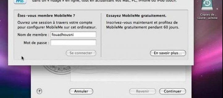 Tuto Configurer un compte POP - 1 Mac OS