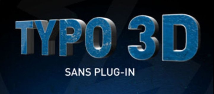 Tuto Typo extrudée sans plugin After Effects